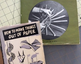 2 craft books from 1960's