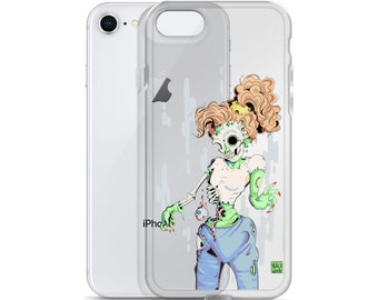 Zombie Babe iPhone Case