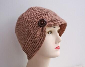 PATTERN - Crochet Modern Twist Flapper - Free International Shipping