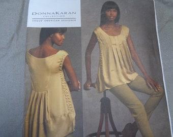 Vogue 1039  Size 16-22- Tunic and Pants. Donna Karan collection-UNCUT