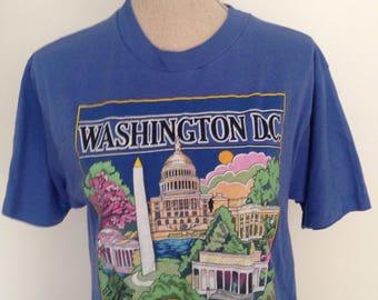 Vintage Washington DC 1987 Tshirt