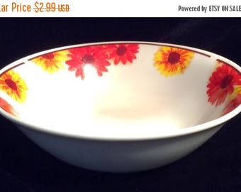 """ON SALE American Atelier SUNFLOWER #5608 Stoneware Soup Cereal Bowl Dinnerware Excellent Condition 6 3/8"""" in diameter"""