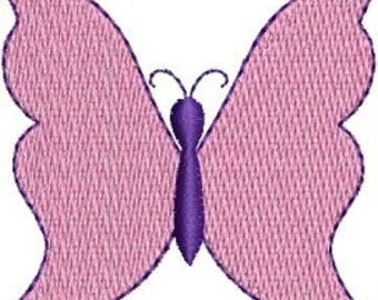Mini Butterfly machine embroidery designs 4 sizes