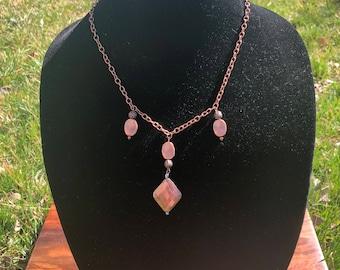 Copper Necklace – Copper Jewelry – Modern Jewelry