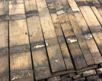 Bourbon Barrel Stave, Whiskey stave, bourbon wood, barrel slat, reclaimed wood