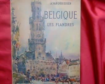 "Book ""Belgium Flanders"" 1958 - members Der essen - ed Arthaud"