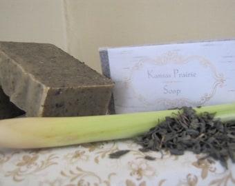Lemongrass Green Tea Soap