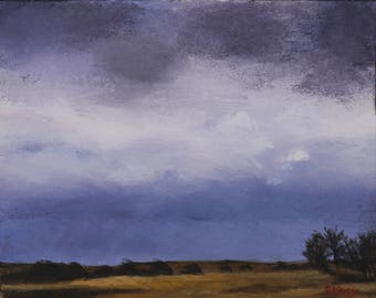 Approaching Storm #1 art print 11x14
