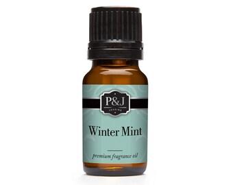 Winter Mint Fragrance Oil - Premium Grade Scented Oil - 10ml