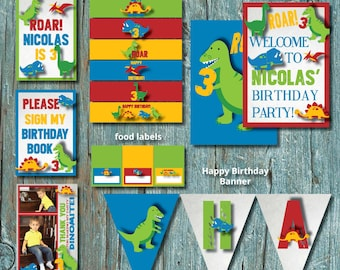 Dinosaur Birthday Party Package