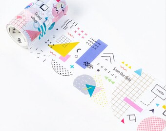 Washi Tape  - Strokes and Dots 3