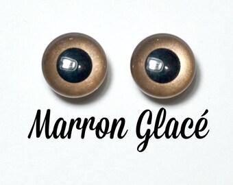 Eyechips 13 mm - color taupe Pullip size models