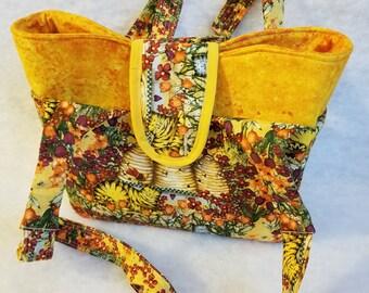 Honey Bee Spring Tote Bag
