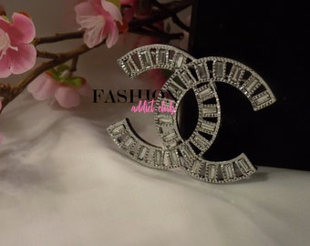 Timeless Embellished Rhinestone Brooch/Pin ***PRIORITY SHIPPING*** CC