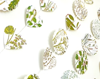 Botanical backdrop, Wedding backdrop, Photo prop, Scalloped Circles, Bunting, Garland, Botanical Banner, Wedding Bunting