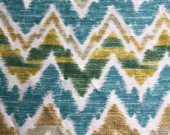 Vintage Ikat - Barkcloth by Mill Creek Fabric