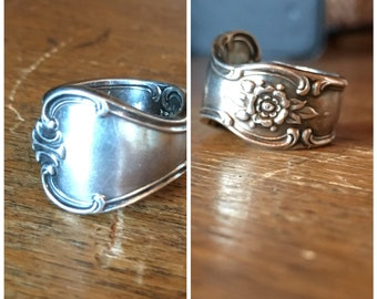 Antique Spoon Ring Size 5