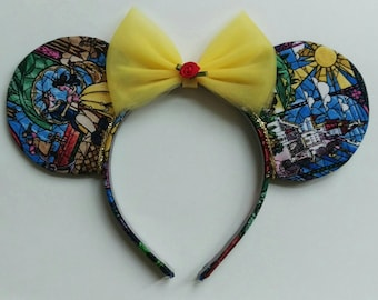 Stained Glass Princess Ears