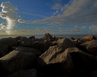 Seascape...Sunrise surprise