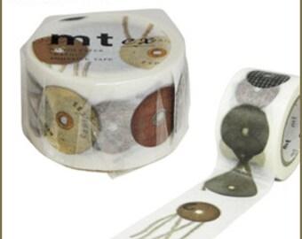 New!! mt ex washi paper masking tape envelope eyelet tamahimo made in Japan