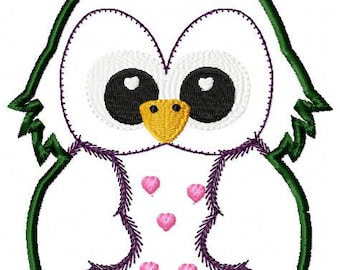 ith owl applique