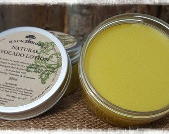 Natural Organic Avocado Lotion