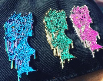 Beauty and the Beast - Deltizzle x Viberaider's Vault Hat Pin