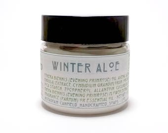 Winter Aloe - Handmade Lotion with Shea and Cocoa Butter - 1 oz.