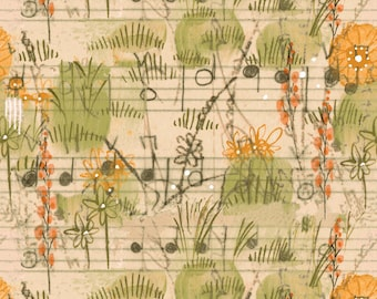 Beauty Is You Collection - Dancing Meadow in Natural by Cori Dantini for Blend Fabrics