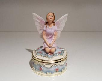 Blue Fairy Trinket Box