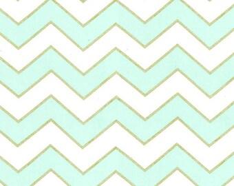 Chic Chevron Pearl Mist fabric MC5708 | Quilting Cotton fabric