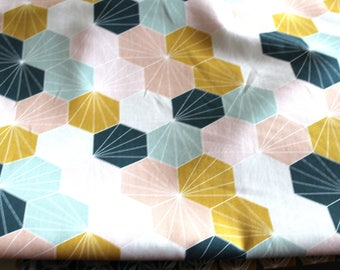 Fabric upholstery 50 x 68 cm graphic spirit