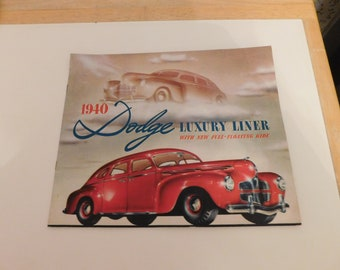 1940 Dodge Luxury Liner with New Full-Floating Ride