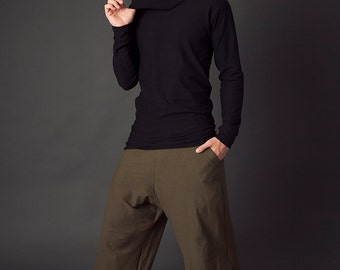 Ronan Pants, Men's Yoga Pants, Lounge pants, Festival Clothing, Organic Clothing, Hemp Clothing, Burning Man