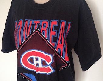 Vintage Montreal Canadiens Hockey 1994 Tshirt