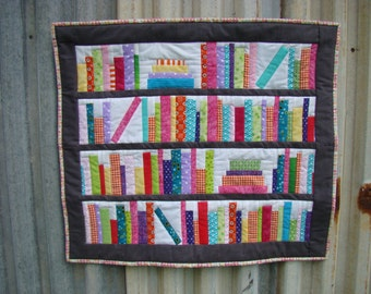 PDF Bookends Mini Quilt Pattern Digital Download