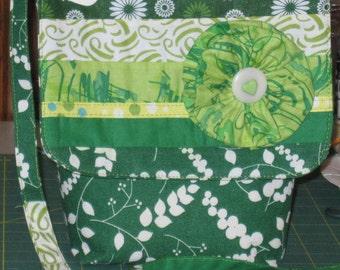 Color me green bag