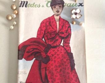 French Vintage Women's Magazine