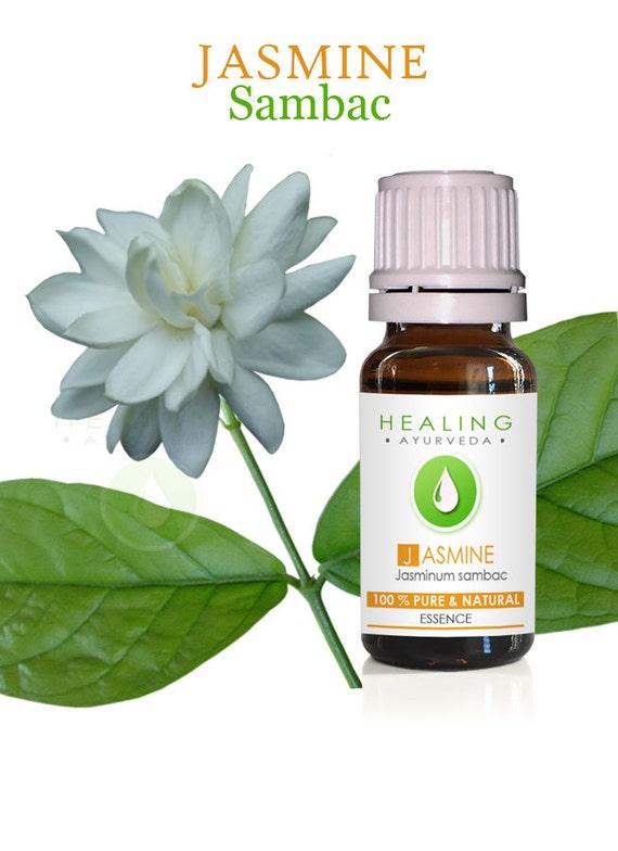 Jasmine Sambac, 100% Jasmine essential oil - Arabian Jasmine -  Natural flower essence-  jasmine- Aromatherapy oil-Bath and beauty- skincare