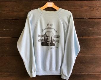 Vintage 90s Johann Sebastian Bach Sweatshirt