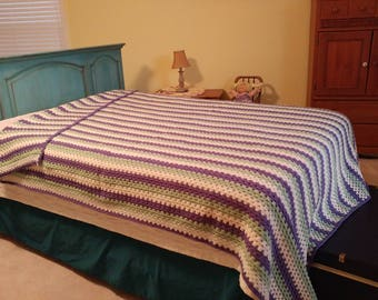 Striped Afghan