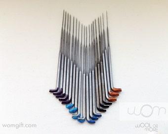 Felting needles triangular / star / twisted / reverse needles for wool