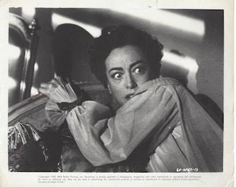 "Original B&W Photo, JOAN CRAWFORD, 1952 - Sudden Fear, 8"" x 10"", RKO"