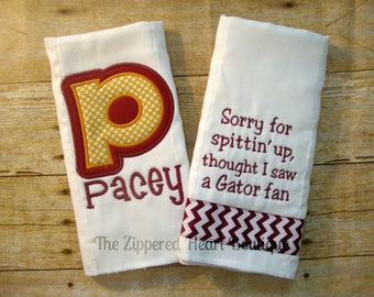 Seminole Burp Cloth Combo