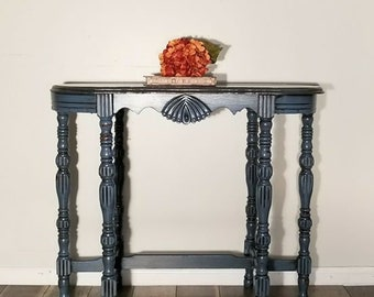 Hand Painted Accent Table