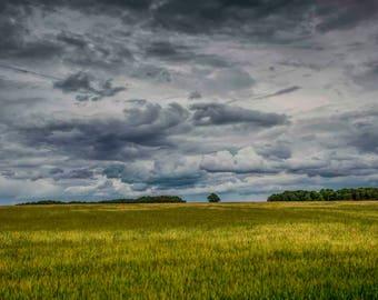 Landscape photography. Wall Art. Fine art photography. Suffolk landscape photography. Dramatic fine art landscape photography. Cloudscape