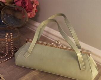 Light green purse