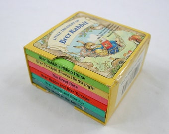 Little Treasury of Brer Rabbit - Collection of Six Board Books 1988