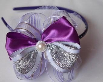 Princess Purple Sparkling Headband