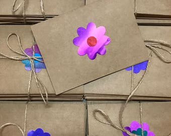 Small Flower Blank Cards